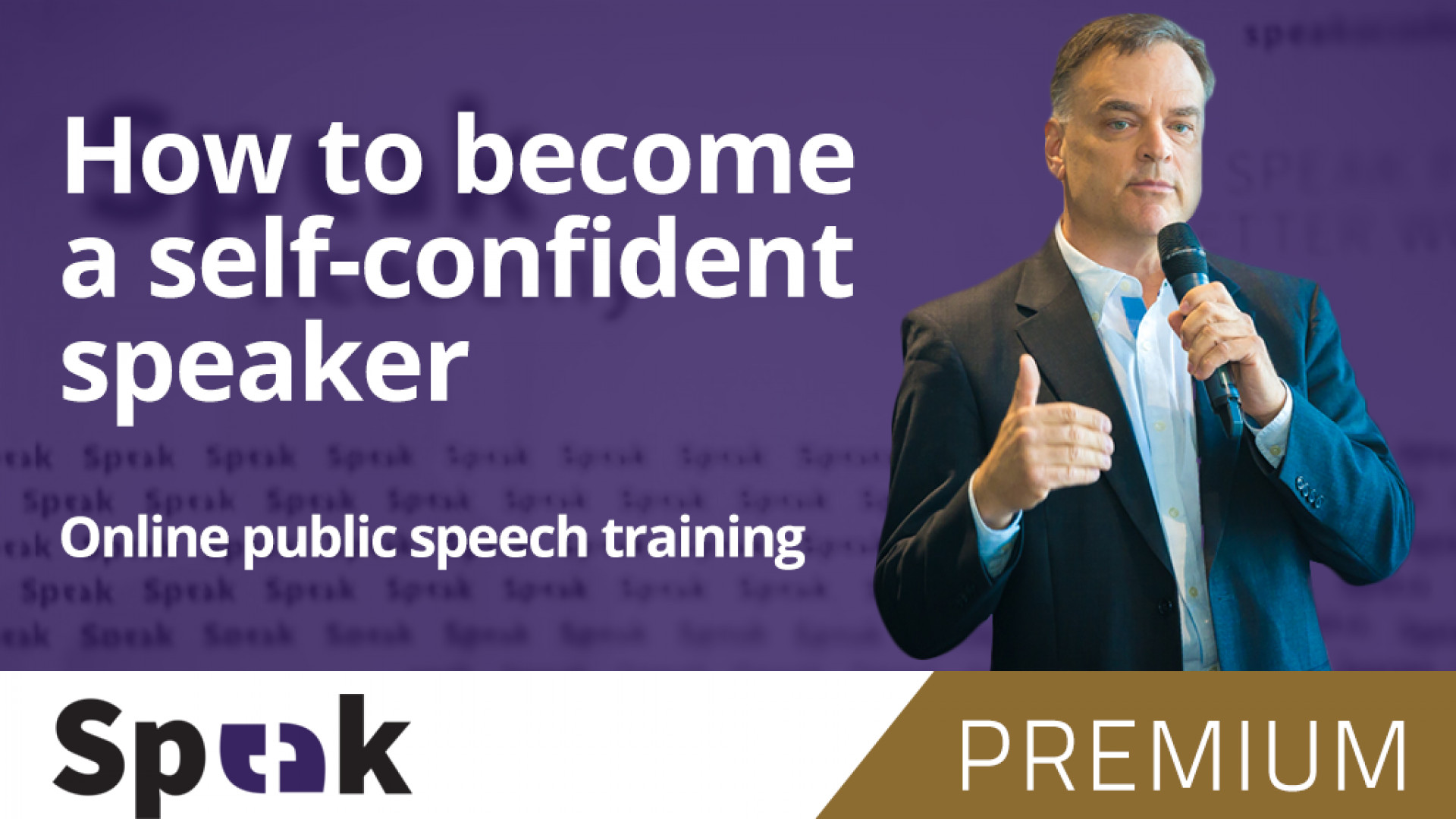 Complete public speaking course!